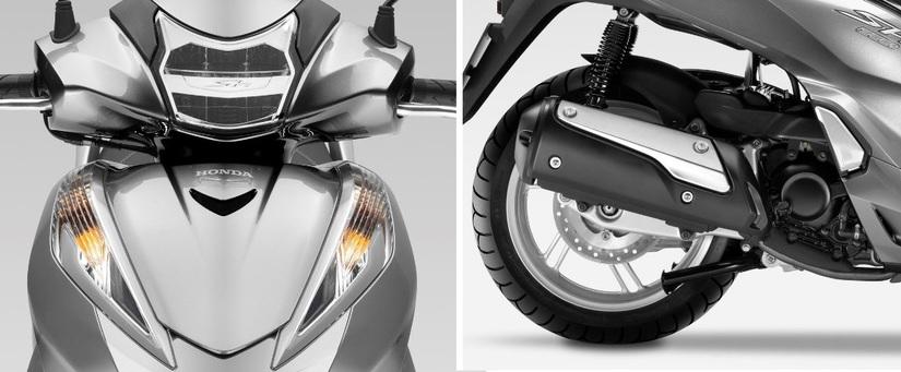 Honda SH 300i giá 300 triệu tại Việt Nam trang bị công nghệ hiện đại2