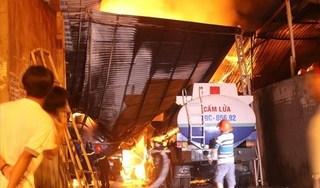 Thông tin  mới nhất vụ nhiều xe bồn chở xăng cháy ở Nha Trang
