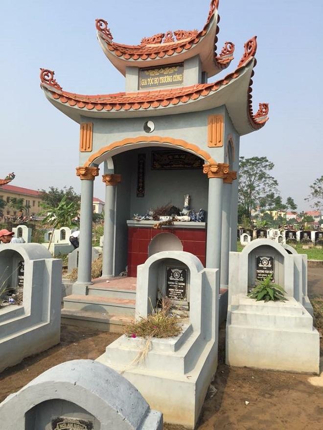 Hàng trăm ngôi mộ bị đập bỏ bát hương ở Hưng Yên
