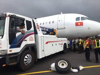 2 lốp máy bay Vietjet rơi sau sự cố ở Buôn Ma Thuột tìm thấy ở đâu?