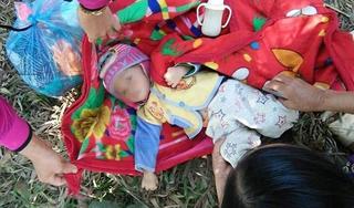 Yên Bái: Bé gái khoảng 15 tháng tuổi bị bỏ rơi ở nghĩa trang