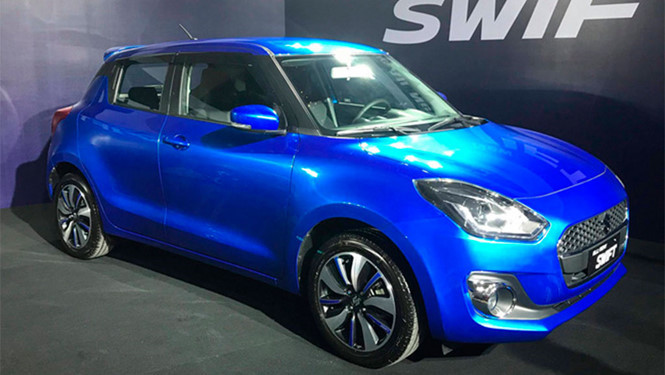 Suzuki Swift 2018 giá 500 triệu đồng có điểm gì đặc biệt