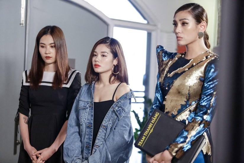 Chị gái Nam Em dừng chân tại tập 9 The Face 2018