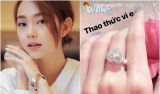 Ca sĩ Minh Hằng lần đầu nói về nhẫn kim cương khiến fan xôn xao
