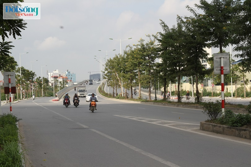 Cận cảnh con đường 8 làn xe mang tên nhà tư sản Trịnh Văn Bô15