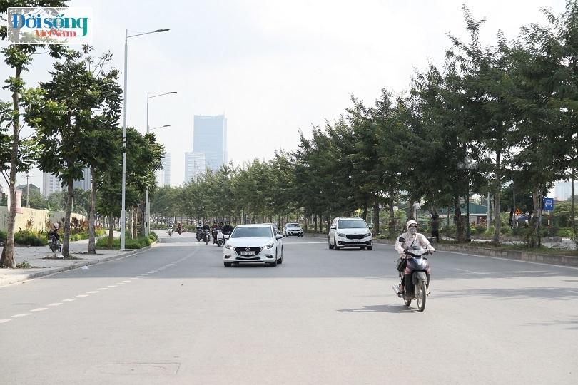 Cận cảnh con đường 8 làn xe mang tên nhà tư sản Trịnh Văn Bô11
