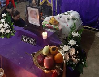 Bé 1 tuổi tử vong bất thường sau bữa ăn ở nhà giữ trẻ tư nhân