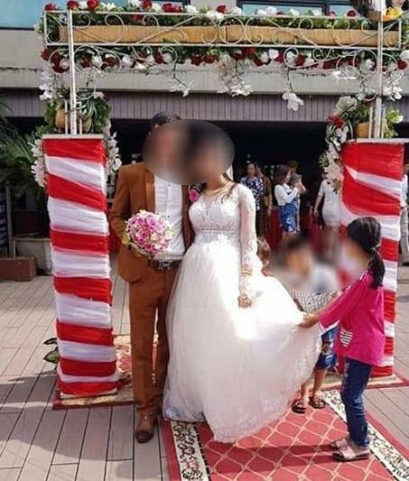 Chồng tối ôm vợ con, sáng hôm sau tổ chức cưới rình rang với bồ trẻ4