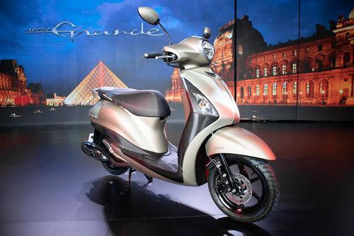 Yamaha Grande mới giá từ 45,5 triệu đồng được cải tiến những gì