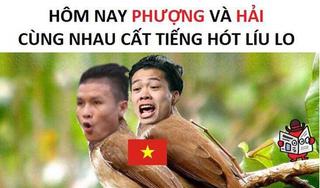 Xem trọn bộ ảnh chế hài hước về các tuyển thủ VN trong trận bán kết