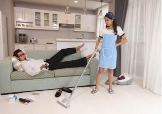 Chiêu độc của vợ cao tay khiến chồng 'cun cút' làm việc nhà mà không hề kêu ca nửa lời