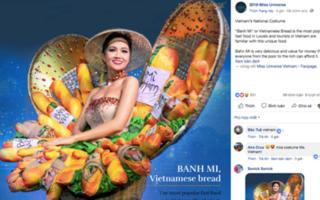 Bị chê 'tới tấp', trang phục 'Bánh mì' của H'Hen Niê vẫn nằm top 4 bình chọn của Miss Universe