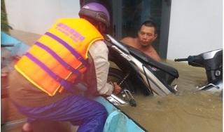 Người dân Quảng Nam, Quảng Ngãi oằn mình với lũ lớn vượt mức báo động