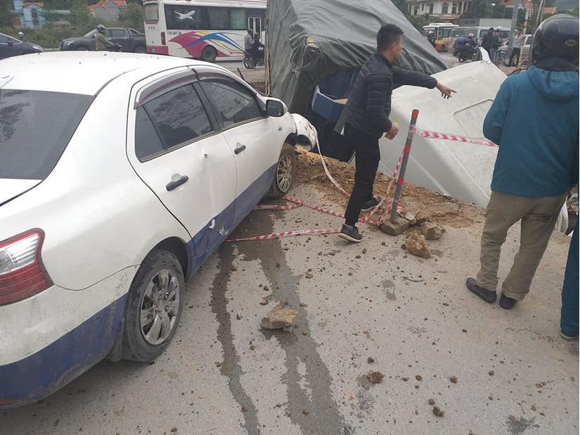 Quảng Ninh: Tai nạn giao thông liên hoàn, nhiều phương tiện bị hư hỏng9