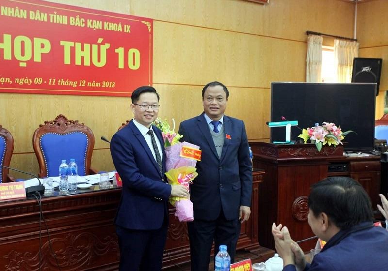 Bắc Kạn: Ông Đinh Quang Tuyên được bầu giữ chức Phó chủ tịch UBND tỉnh