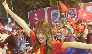 Hoa hậu Đông Nam Á Phan Hoàng Thu, Chiến Thắng dự đoán Văn Toàn, Công Phượng ghi bàn