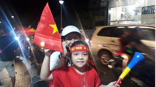 Tuyển Việt Nam thắng hoặc hòa, công an Phú Quốc sẽ dẫn đường cho mọi người 'đi bão'