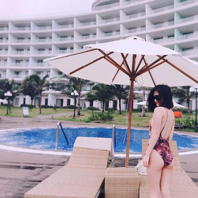 Loạt ảnh bạn gái Huy Hùng xinh đẹp và cực kỳ gợi cảm7