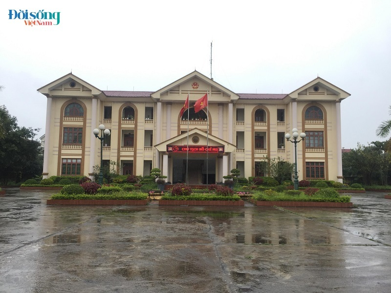 Trụ sở UBND thị trấn Hồ