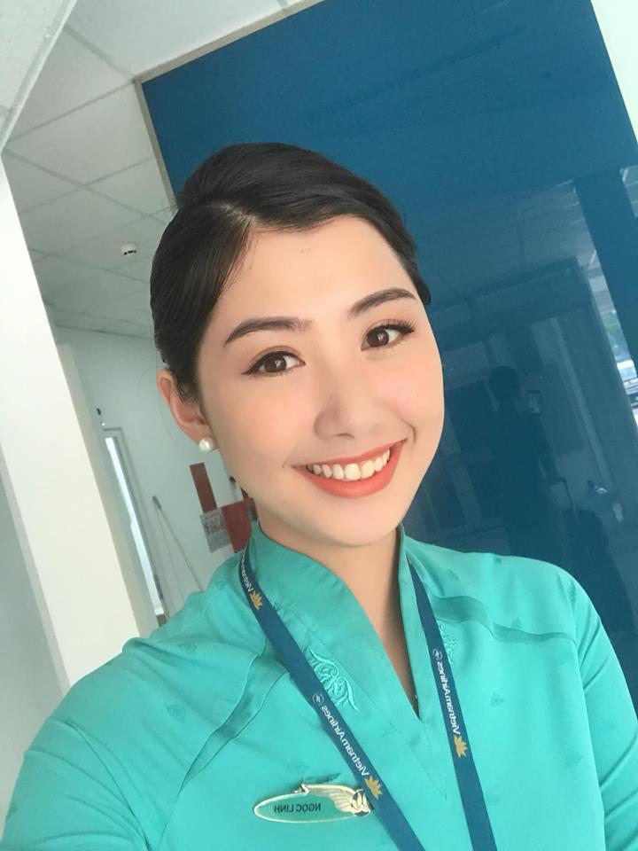 Lộ danh tính nữ tiếp viên xinh đẹp post ảnh với tuyển Việt Nam5