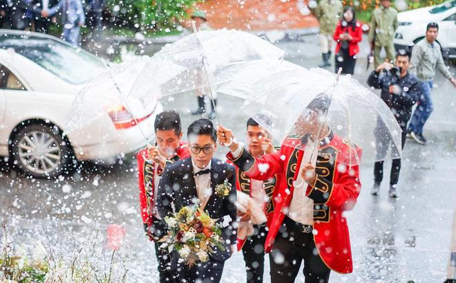 Đám cưới cổ tích ở Hải Phòng: Chú rể mang siêu xe hiếm đi đón dâu2