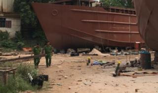 Tiết lộ nguyên nhân vụ nổ xưởng đóng tàu khiến 2 người tử vong ở Sài Gòn