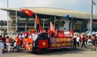 Những tuyến đường nào ở Hà Nội bị cấm để phục vụ trận chung kết AFF Cup?