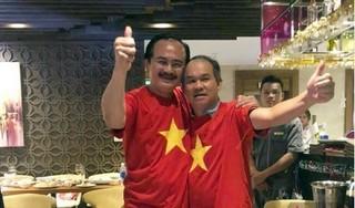 Xúc động hình ảnh bầu Đức mừng chiến thắng Việt Nam vô địch