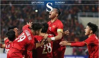 Báo chí Châu Á nói gì về 'ngôi vương' của tuyển Việt Nam tại AFF Cup 2018