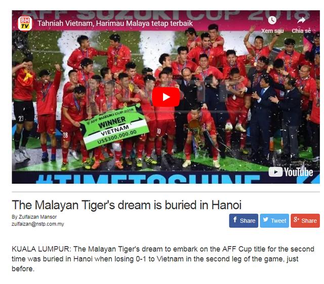 Báo chí Châu Á nói gì về ngôi vương của tuyển Việt Nam tại AFF Cup