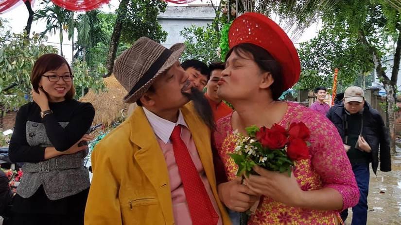 Cặp đôi Thu Sao - Hoa Cương vào hài Tết Làng ế vợ 5