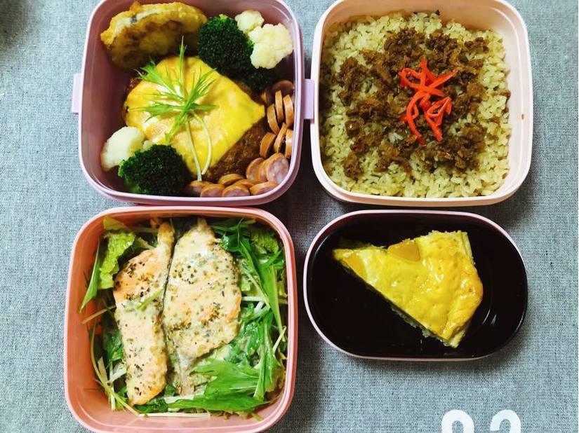những hộp cơm trưa ngon xuất sắc mà vợ đảm nấu cho chồng8