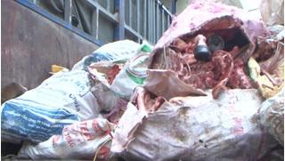 Hưng Yên: Phát hiện 6,5 tấn xương động vật bốc mùi hôi thối trên đường đi tiêu thụ