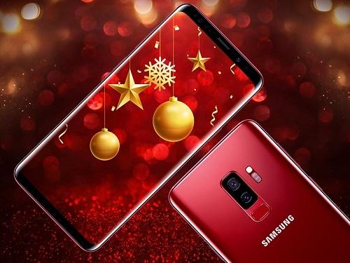 Samsung mở bán Galaxy S9+ màu vang đỏ