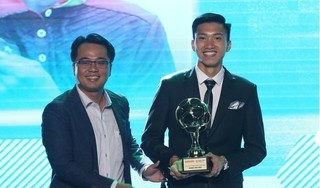 Đoàn Văn Hậu vượt Quang Hải, Đình Trọng nhận giải nam cầu thủ trẻ hay nhất năm 2018