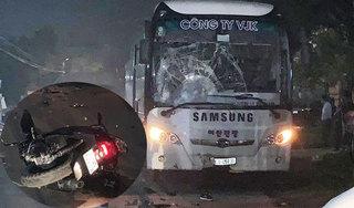 Danh tính 2 nạn nhân tử vong sau va chạm với xe Samsung chở công nhân