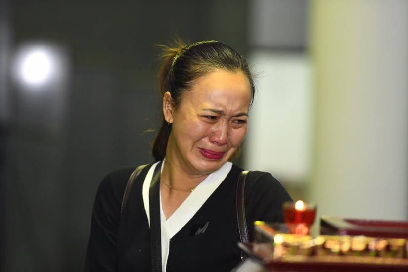 Hình ảnh xúc động trong tang lễ NSND Anh Tú