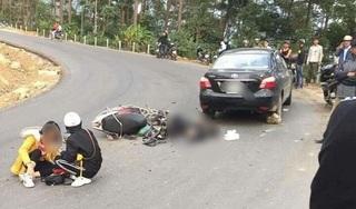 Đôi nam nữ phượt thủ gặp tai nạn kinh hoàng trên đèo Tam Đảo