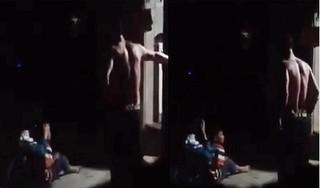 Xuất hiện clip người đàn ông đánh đập bé gái dã man ở Hà Nội