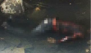 Tá hỏa phát hiện thi thể nam thanh niên nằm sấp dưới mương nước