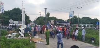 Lạng Sơn: Lái xe qua đường sắt không quan sát, bị tàu tông tử vong
