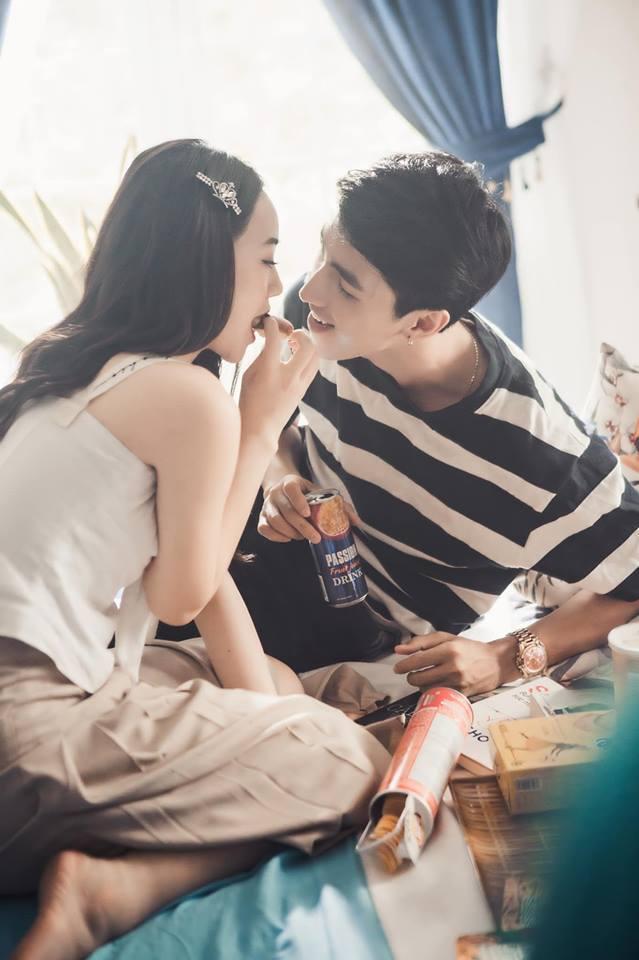 Diễn viên Quỳnh Kool tình tứ với trai lạ trong loạt ảnh mới2