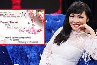 Hé lộ thiệp cưới trên trang cá nhân, Phương Thanh chuẩn bị lên xe hoa?