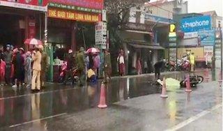 Ninh Bình: Va chạm với xe tải, nữ công nhân tử vong thương tâm