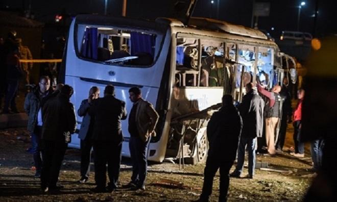 Xác đinh danh tính 3 nạn nhân Việt trong vụ đánh bom ở Ai Cập. Ảnh AFP