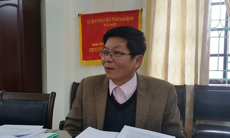 Giám đốc Trung tâm Y tế dự phòng tỉnh Nam Định lên tiếng