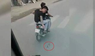 Hai thanh niên nêu lý do bất ngờ khi rải đinh trước đầu xe tải ở Hà Nội