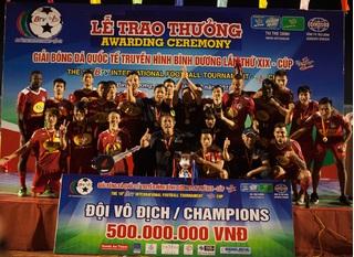 Đội bóng phố núi HAGL vô địch BTV – Cúp Number 1 lần thứ 19