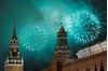 Chùm ảnh pháo hoa rực sáng bầu trời thế giới chào đón năm 2019