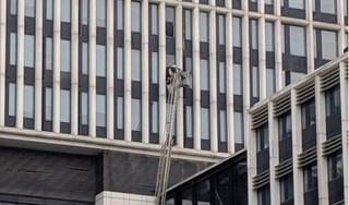 Xuất hiện vụ cháy xảy ra tại trụ sở Bộ Công an?